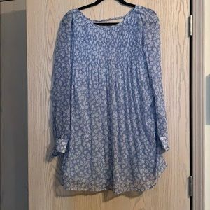 Long sleeve, floral Urban Outfitters Dress
